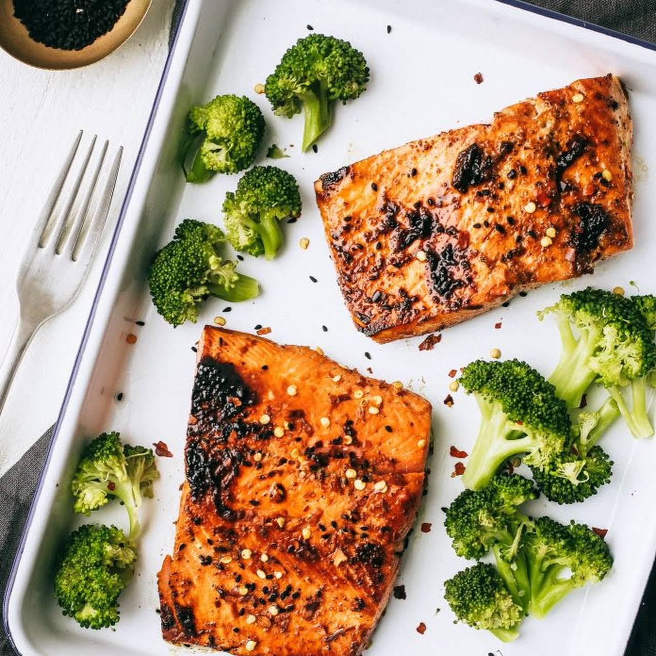 Go-To Glazed Salmon