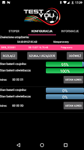 TestYou Mobile - Timimg system - náhled