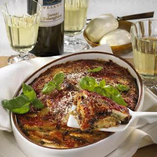 Parmigiana di Melanzane (Eggplant Parmesan Casserole)
