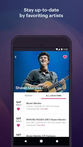 StubHub - Live Event Tickets screenshot 5