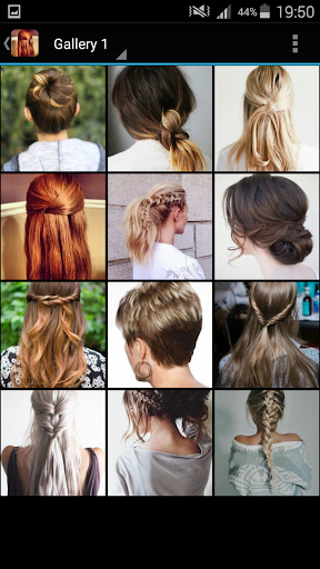 Easy Hairstyles app (apk) free download for Android/PC/Windows screenshot