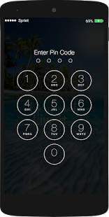 Mobile Screen Lock Pro - náhled