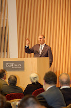 Photo: Richard Haass, president of the Council on Foreign Relations, addresses the summit's attendees.