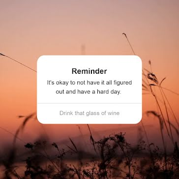 Meadow Sunset Reminder - Video Templates Template