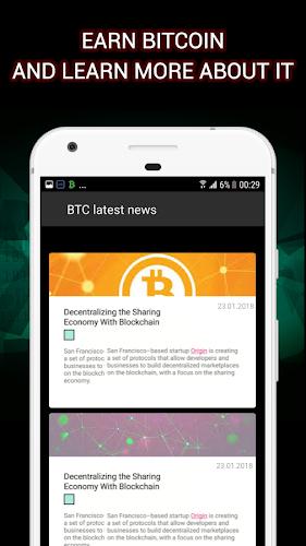 Download Bitcoin Crane - Earn Satoshi for free & BTC FAUCET
