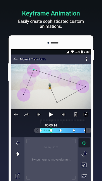 Screenshot - Alight Motion — Video and Animation Editor