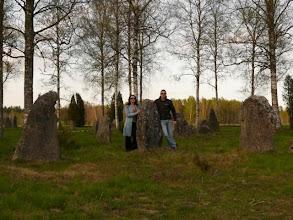 Photo: visiting magic stones