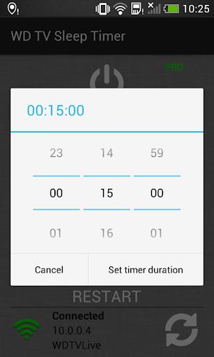 WD TV Sleep Timer 1.0 screenshots 3