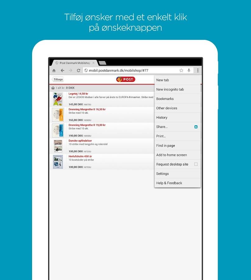 ønskeskyen app