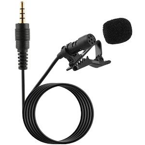 Microfon tip lavaliera Clip-ON pentru telefon, lungime 6 metri