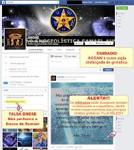 Photo: Veja agora a AGSAW ( Associação Gnoseolística Samael Aun Weor ) divulgando outra página espírita.  Eles, os infiltrados estão lutando por passar o conceito de que tudo é Gnose, até espiritismo. .