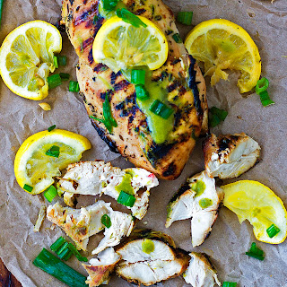 The ULTIMATE Grilled Chicken with Lemon-Avo Sauce {How-To}{Paleo, Gluten- Free}.