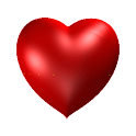 خلفية قلب حب متحرك icon
