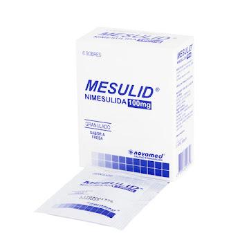 Mesulid 100Mg Sobres   Caja x6Sob. Novamed Nimesulida
