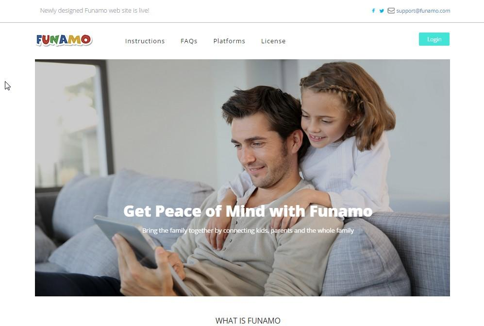 Funamo Parental Control - screenshot