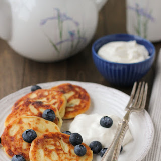 Sirniki (Farmer's Cheese Pancakes)