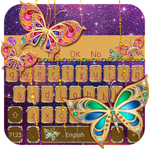 Diamond Jewelry Keyboard for PC