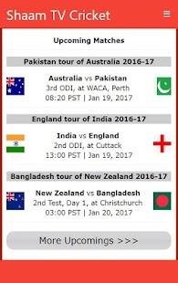 Shaam TV Live Cricket updates Apk Download