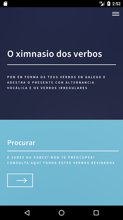 Ximnasio dos Verbos (Unreleased)- screenshot