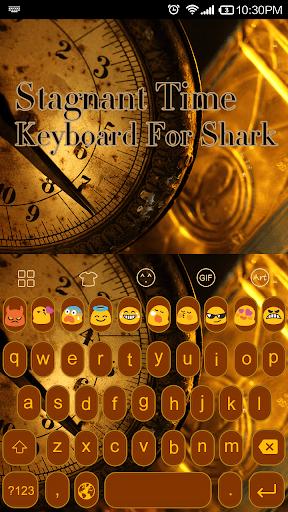 Time Clock -Kitty Keyboard