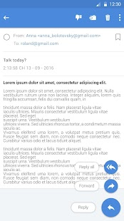 Email - fast mail - náhled