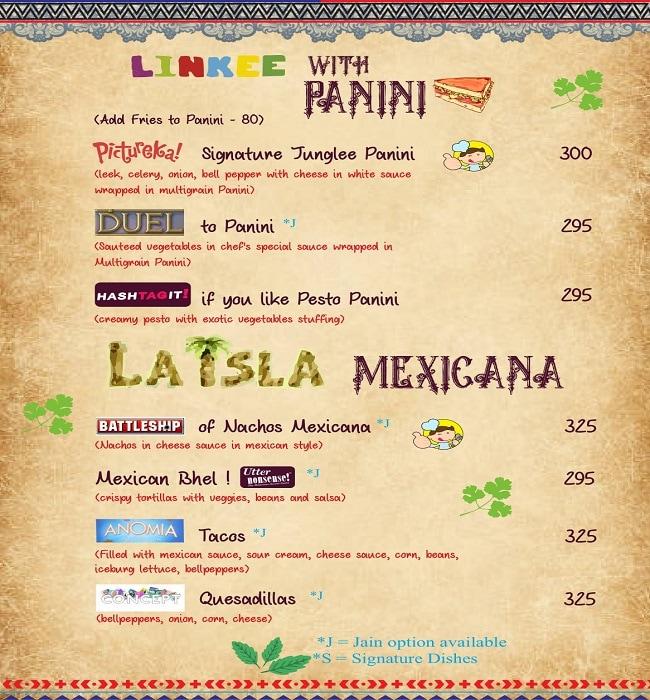 Pair A Dice Cafe menu 4