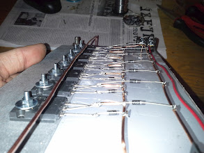 Photo: diodes done .. nice and clean joints