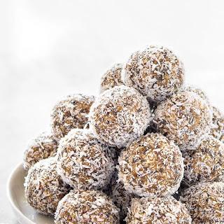 Healthy Lemon Coconut Energy Balls.
