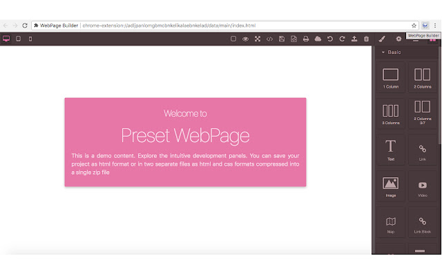 WebPage Builder