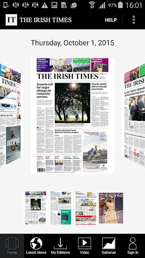 Irish Times ePaper