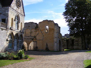 Photo: There are remains of structures from many eras, back to Gallo-Roman times.