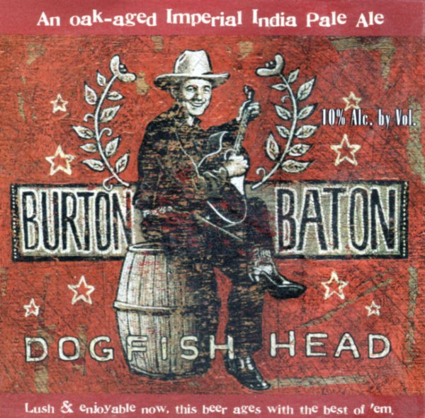 Logo of Dogfish Head Burton Baton IPA