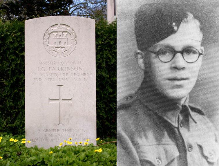 Corporal I.G. (Iwan George)  Parkinson