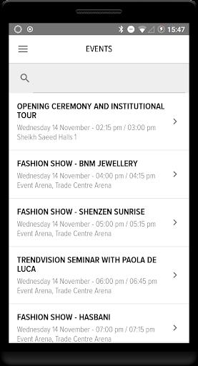VOD Dubai International Jewellery Show ss2