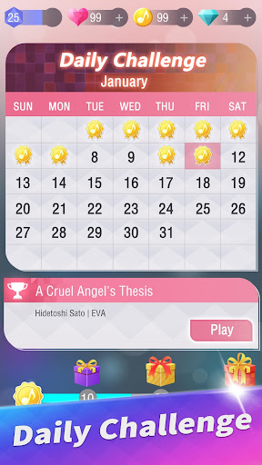 Anime Tiles: Piano Music apkdebit screenshots 10