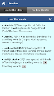 Pune Bus Info- screenshot thumbnail