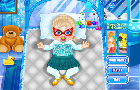 Baby Frozen Care- screenshot thumbnail