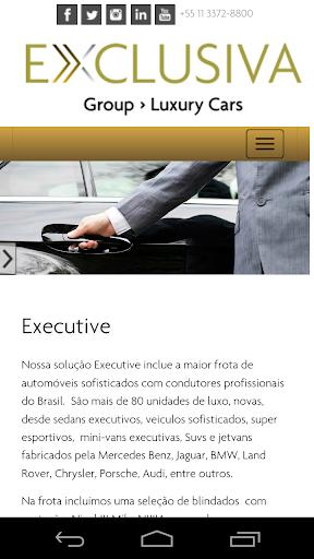 Exclusiva Group - luxury cars