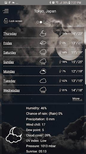 حالة الطقس screenshot 7