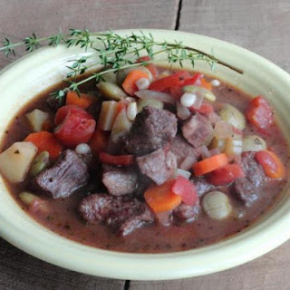 Hearty Herb And Cabernet Beef Stew