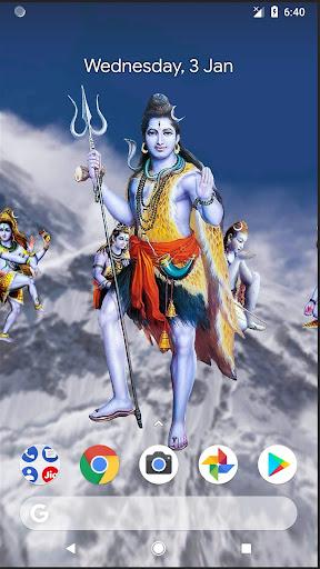 4D Shiva Live Wallpaper 11.0 screenshots 2