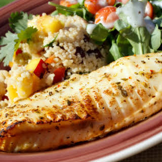 Grilled Citrus Tilapia.