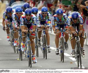 Mapei maakt terugkeer in het wielrennen