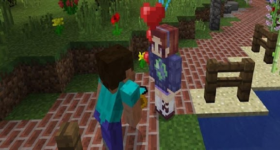 My Girlfriend Mod for MCPE - náhled