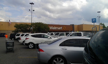 Photo: I spent the weekend at my sister's house in Conroe and she is keeping my boy for the week. On Sunday, I headed out to Walmart to pick up some football inspired gift bags for my niece, nephew, and my boy so they could have a football party!