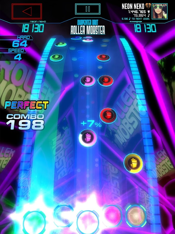 Neon FM™ — Arcade Rhythm Game- screenshot