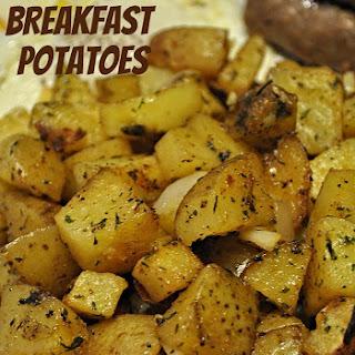 Baked Breakfast Potatoes.