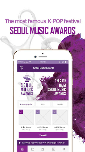 The 28th SMA official voting app for Global 1.0.5 screenshots 2