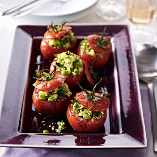 Quinoa Stuffed Tomatoes.