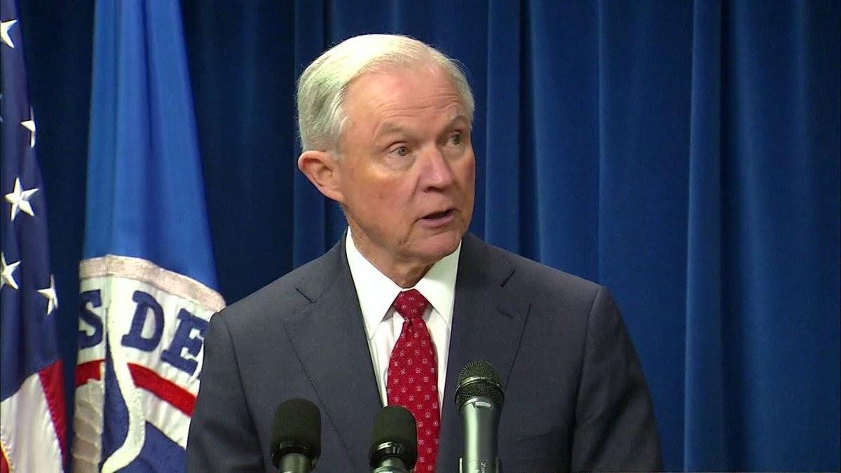 AG Sessions announces zero-tolerance for illegal border crossers